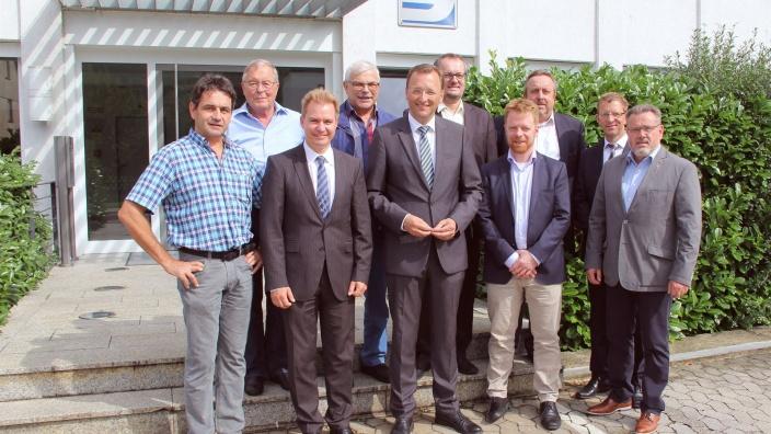 CDU Kandidat Josef Oster besucht Spay