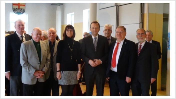 Hier im Kreise von Mitgliedern der CDU-Waldesch